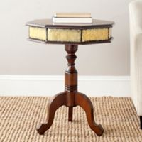 Safavieh Daphne Side Table in Dark Brown
