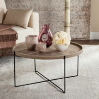 Safavieh Auden Accent Table in Light Grey