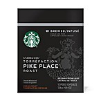 Starbucks® Verismo™ 12-Count Pike's Place® Brewed Coffee Pods
