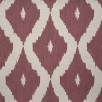 Graham & Brown Kelly's Ikat Wallpaper in Taupe/Carmine