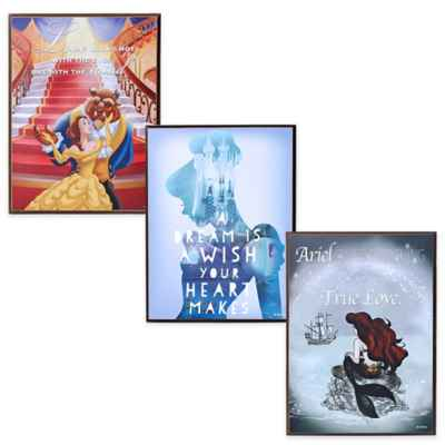 Disney Characters Mini Wall Art Collection