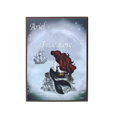 Disney The Little Mermaid Ariel Mini Wall Art