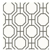 A-Street Prints Circuit Ironwork Wallpaper in Black