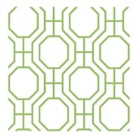 A-Street Prints Circuit Ironwork Wallpaper in Green
