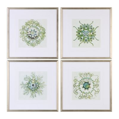 Uttermost organic symbols framed wall art set of 4