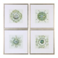 Uttermost Organic Symbols Framed Wall Art (Set of 4)