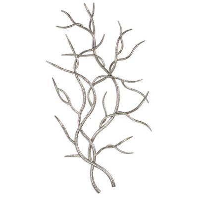 Top Buy Silver Leaf Wall Decor from Bed Bath & Beyond SD33
