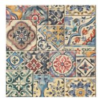 A-Street Prints Reclaimed Marrakesh Tiles Wallpaper in Multi