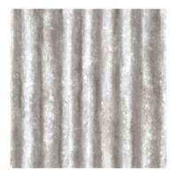 A-Street Prints Reclaimed Corrugated Metal Wallpaper in Silver