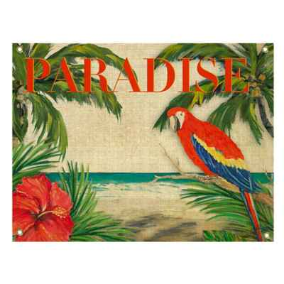 Tropical Paradise All-Weather Canvas Wall Art
