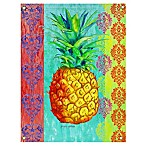 Breezy Palms Pineapple All-Weather Canvas Wall Art