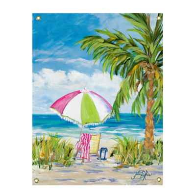 Vacation Getaway All-Weather Canvas Wall Art