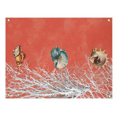 Coral Colored Wall Decor buy coral wall art from bed bath & beyond
