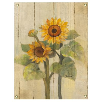 Sunflower Wall Art buy sunflower wall decor from bed bath & beyond