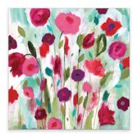 Happy Garden Canvas Wall Art