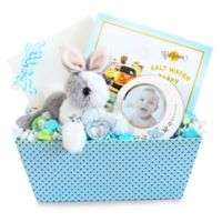 California Delicious Welcome Baby Bunny & Picture Frame Gift Set