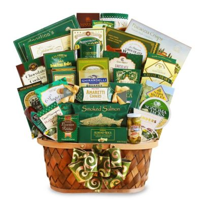 Buy gourmet gift baskets from bed bath beyond gourmet extravaganza gift basket negle Image collections