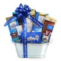 Shimmering Silver Kosher Sympathy Gift Basket