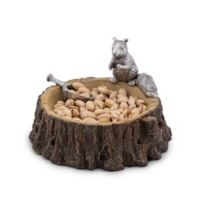 Arthur Court Designs Standing Squirrel Nut Bowl and Scoop