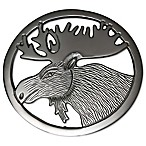 Thristystone® Moose Trivet in Silver