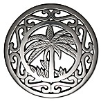 Thristystone® Palm Tree Trivet in Silver