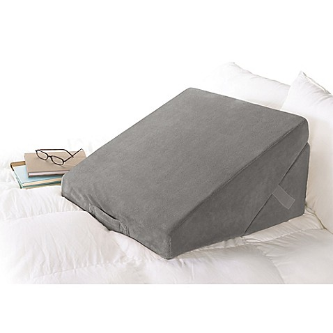 Buy Brookstone 174 4 In 1 Bed Wedge Pillow In Grey From Bed
