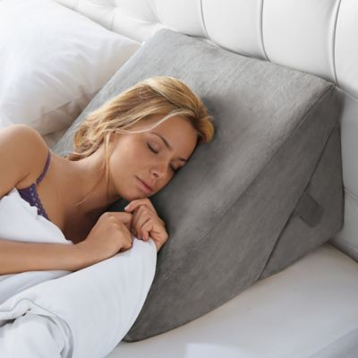 product image for brookstone 4in1 bed wedge pillow 3 out of