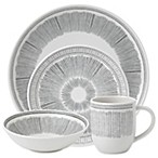 ED Ellen DeGeneres Crafted by Royal Doulton® Grey Lines 16-Piece Dinnerware Set