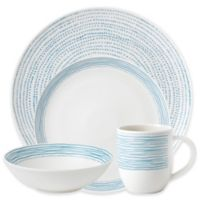 ED Ellen DeGeneres Crafted by Royal Doulton® Polar Blue Dots 16-Piece Dinnerware Set