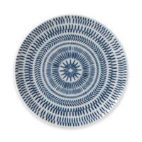 ED Ellen DeGeneres Crafted by Royal Doulton® Dark Blue Chevron Salad Plate