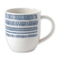 ED Ellen DeGeneres Crafted by Royal Doulton® Dark Blue Chevron Mug
