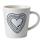 "ED Ellen DeGeneres Crafted by Royal Doulton® ""Love"" Heart Mug in Blue"