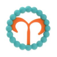 Chewbeads Baby Zodies Aries Teether in Turquoise