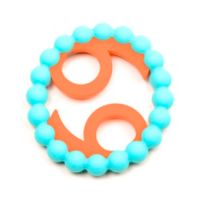 Chewbeads Baby Zodies Cancer Sign Teether in Turquoise
