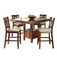 Steve Silver Co. Bolton Counter Height Dining Table in Oak