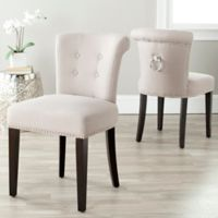 Safavieh Sinclair Ring Chairs in Taupe (Set of 2)
