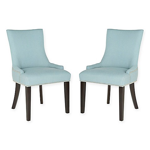 safavieh lester dining chairs set of 2 bed bath beyond