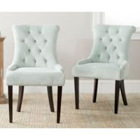 Safavieh Bowie Side Chairs in Light Blue (Set of 2)