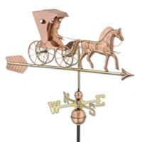 Good Directions Country Doctor Copper Weathervane with Arrow
