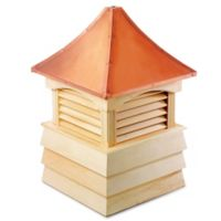 Good Directions Sherwood 84-Inch Cupola in Natural