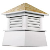 Good Directions Kent 84-Inch Cupola in White