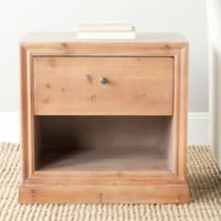 Safavieh Cain End Table in Maple