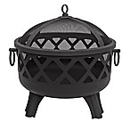 Landmann USA Garden Lights Sarasota 29-Inch Firepit in Black