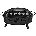 Landmann USA Super Sky Wildfire 43-Inch Firepit in Black