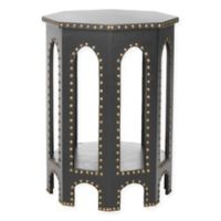 Safavieh Nara End Table in Charcoal