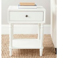 Safavieh Siobhan End Table in White