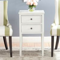 Safavieh Toby End Table in White