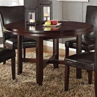Steve Silver Co. 52-Inch Hartford Dining Room Table in Dark Brown
