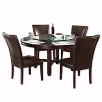 Steve Silver Co. 62-Inch Hartford Dining Room Table in Dark Brown