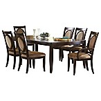 Steve Silver Co. Montblanc Extension Dining Table in Cherry